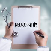 word neuropathy on clip board