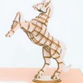 3d horse puzzle