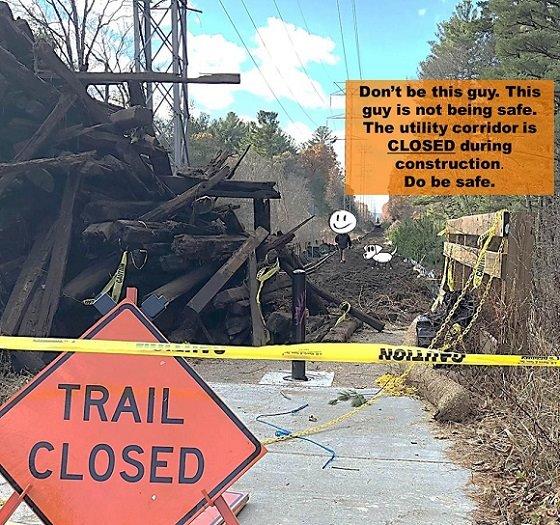rail trail construction
