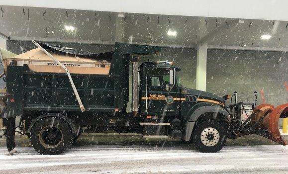 DPW snow truck