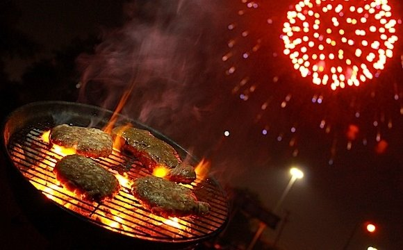 grilling and firework safety