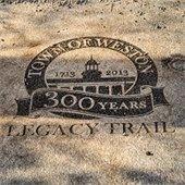 legacy trail marker