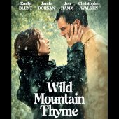 movie poster for wild mountain thyme man and woman facing each other