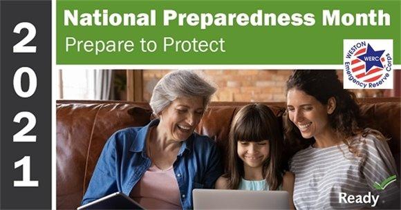 national preparedness month with werc