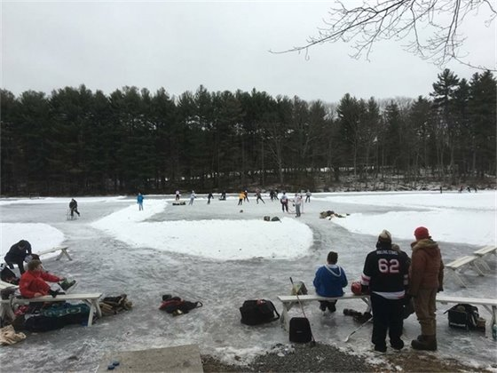 Weston Recreation Skating Update for Monday January 9th