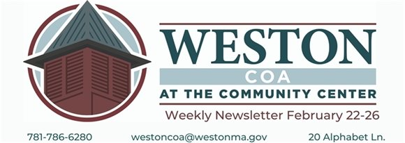 weston coa weekly february 22-26