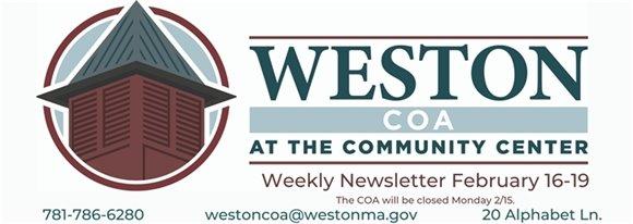 Weston COA Weekly February 16-19