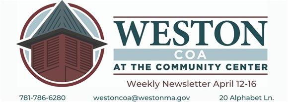 Weston COA Weekly April 12-16
