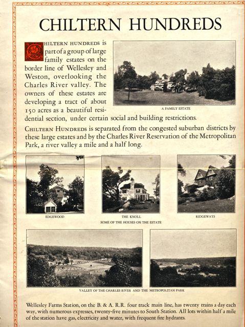 Chiltern Hundreds brochure