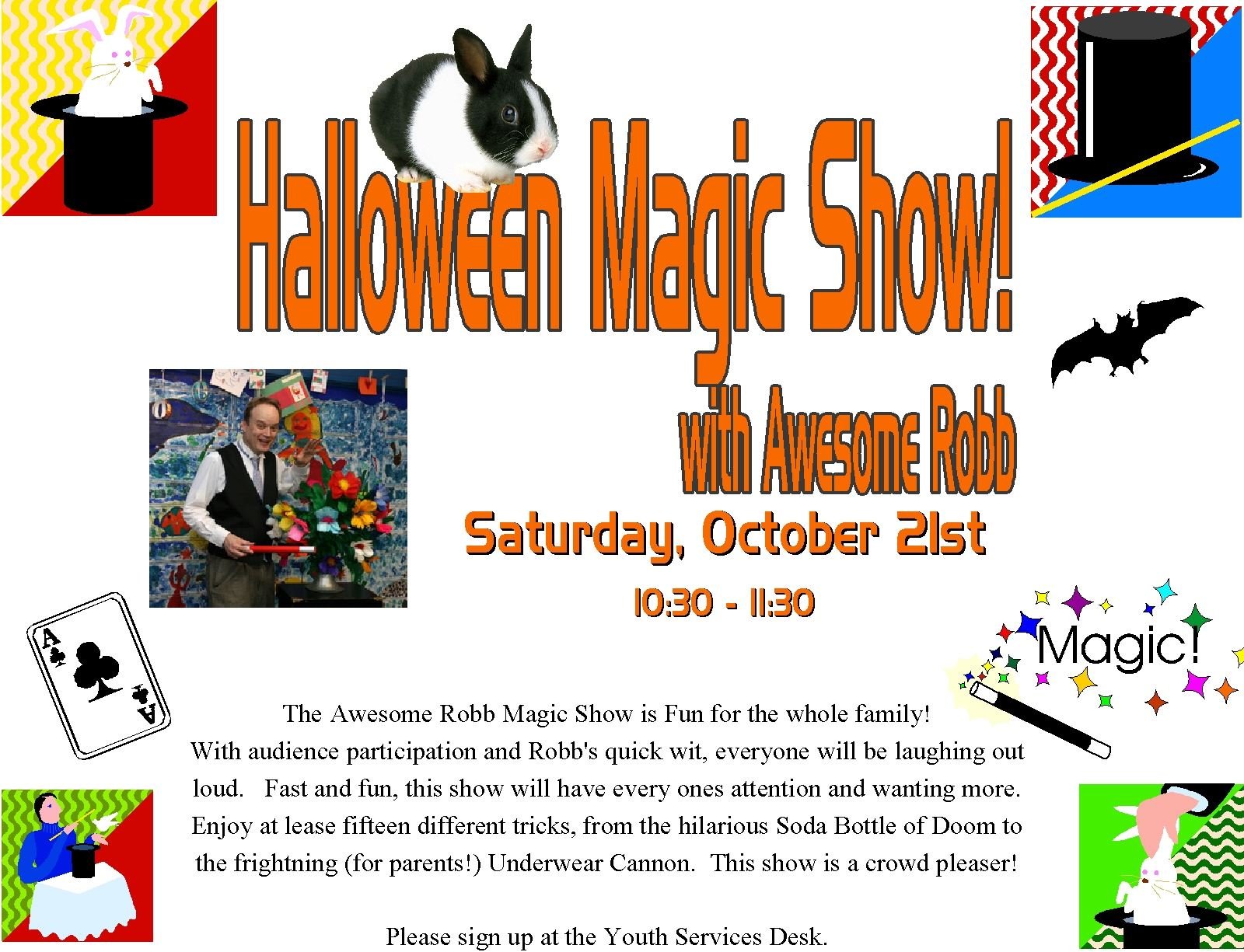 halloween magic show small