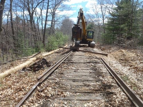 rail trail construction