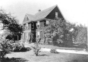 Appletree Cottage at 102 Wellesley Street was Marian Case's home