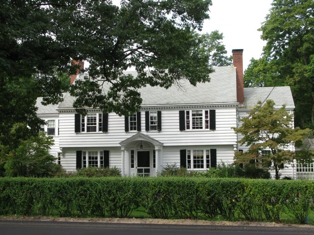A Colonial Revival style house on 63 Wellesley Street