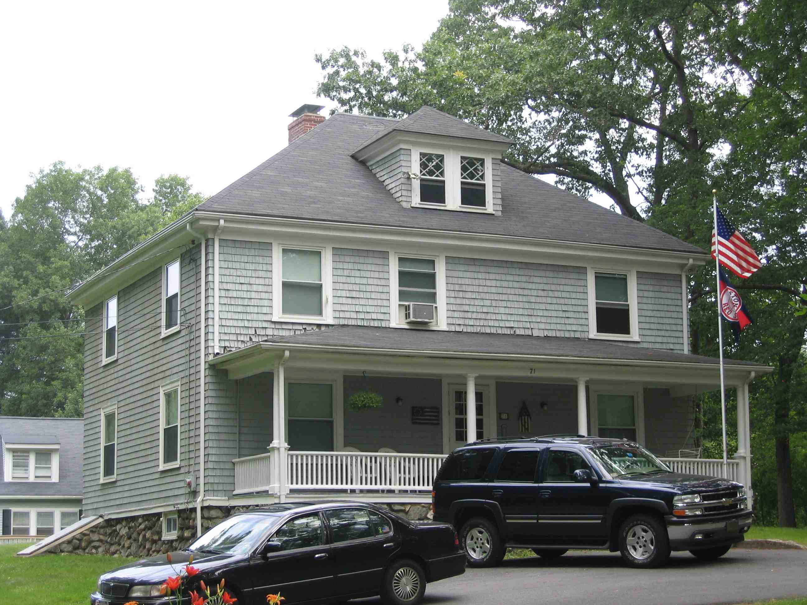 74 Warren Avenue was the home of Percy Warren