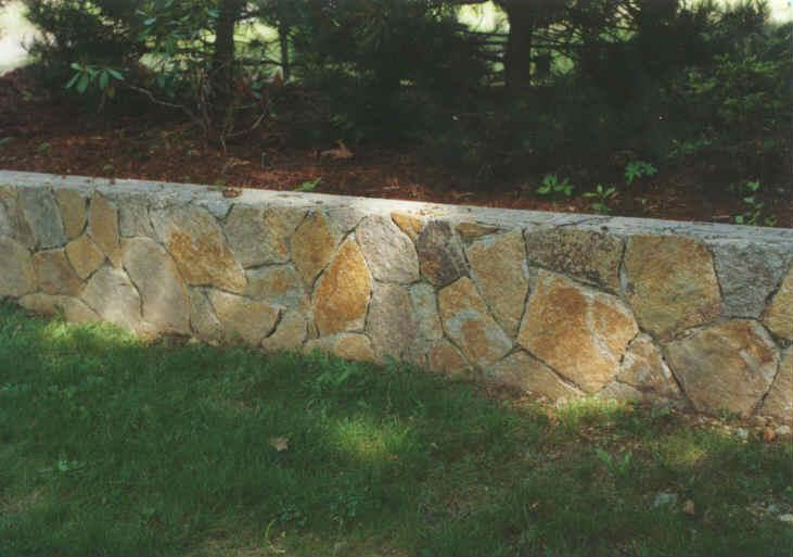 Solid Stone Wall