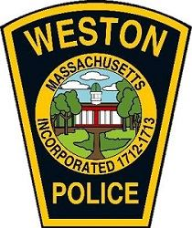 Weston Police Dept. badge