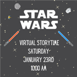star wars storytime 1/23 10 AM