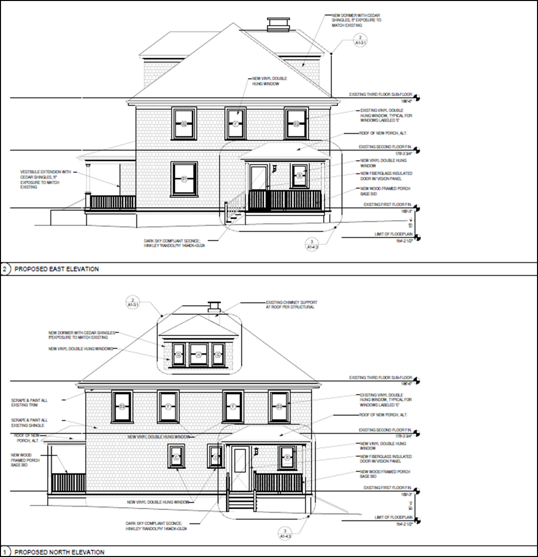 Architectural drawing of 71 Warren Avenue