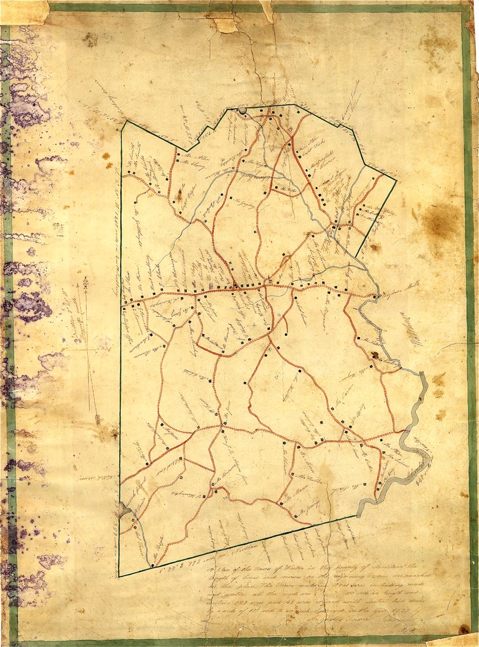 1830 Tower Map